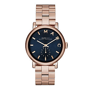 Marc by Marc Jacobs ladies' rose gold-plated bracelet watch - Product number 2222809