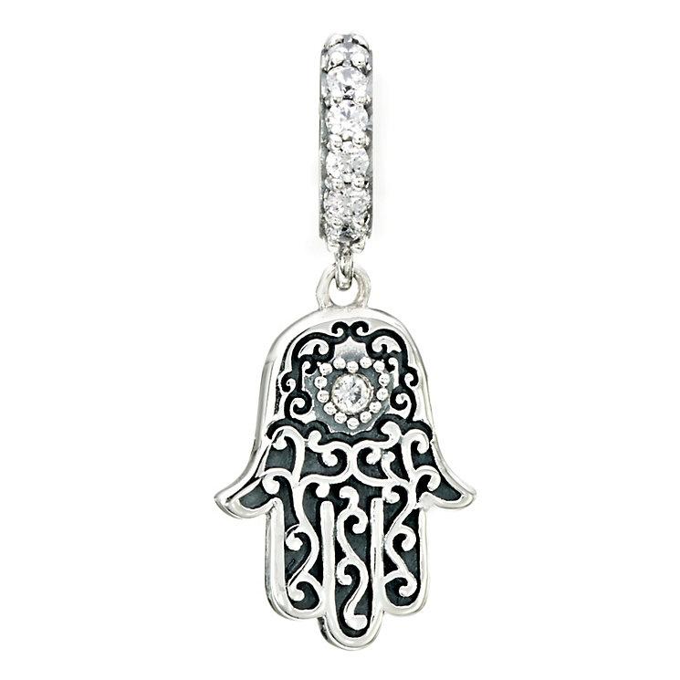 Chamilia Hamsa Swarovski crystal charm bead - Product number 2225743