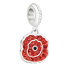 Chamilia silver & Swarovski crystal charm bead - Product number 2225808
