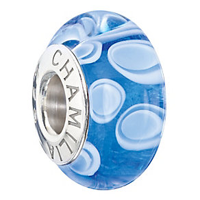 Chamilia blue murano glass bead - Product number 2225867