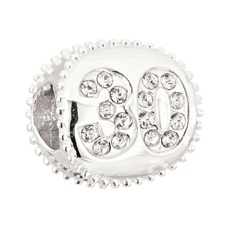 Chamilia 30 Miles sterling silver Swarovski crystal bead - Product number 2225980
