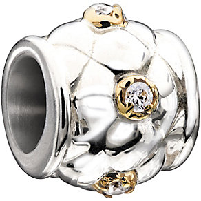 Chamilia sterling silver & Swarovski cubic zirconia bead - Product number 2226863