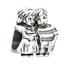 Chamilia Brother & Sister sterling silver bead - Product number 2226987