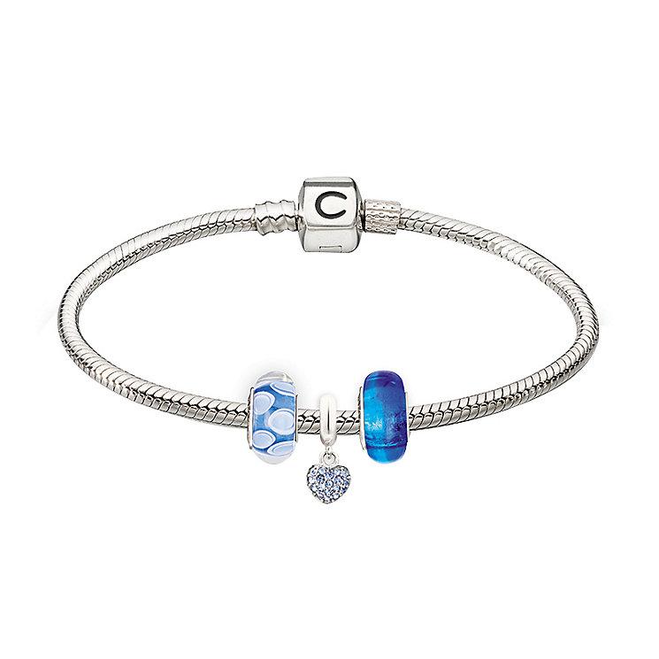 Chamilia - three blue bead starter set - Product number 2227045