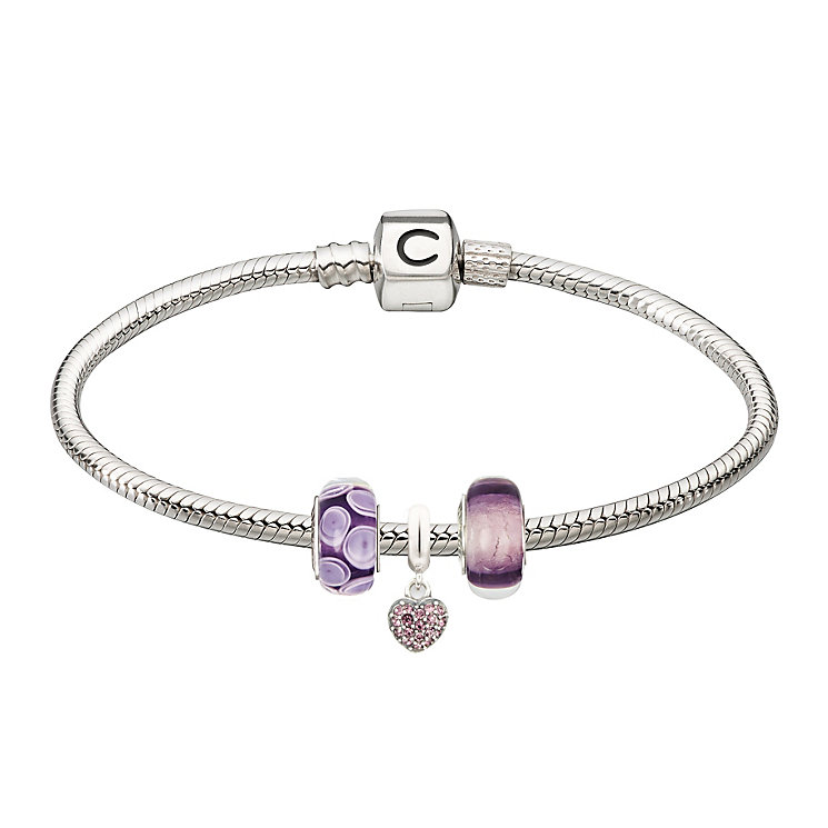 Chamilia - three purple bead starter set - Product number 2227053