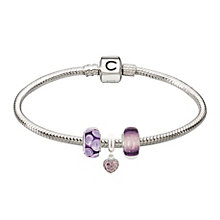 Chamilia - three purple bead starter set - Product number 2227053