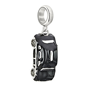 Chamilia Sterling Silver Hanging Black Taxi Bead - Product number 2227150