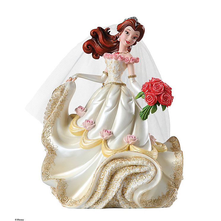 Disney Showcase Belle Bridal Figurine | H.Samuel Beauty And The Beast Belle Pink Dress
