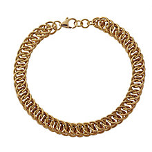 9ct yellow gold fancy multilink bracelet - Product number 2231883