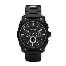 Fossil men's ion-plated chronograph bracelet watch - Product number 2233223