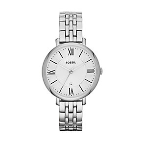 Fossil Jacqueline ladies' stainless steel bracelet watch - Product number 2233398