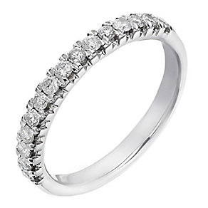18ct white gold 0.33ct diamond eternity ring - Product number 2235838