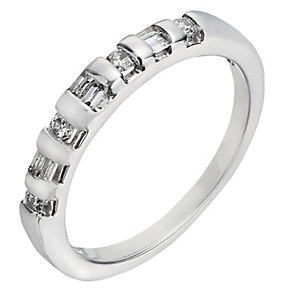 18ct white gold 0.25ct diamond eternity ring - Product number 2238977