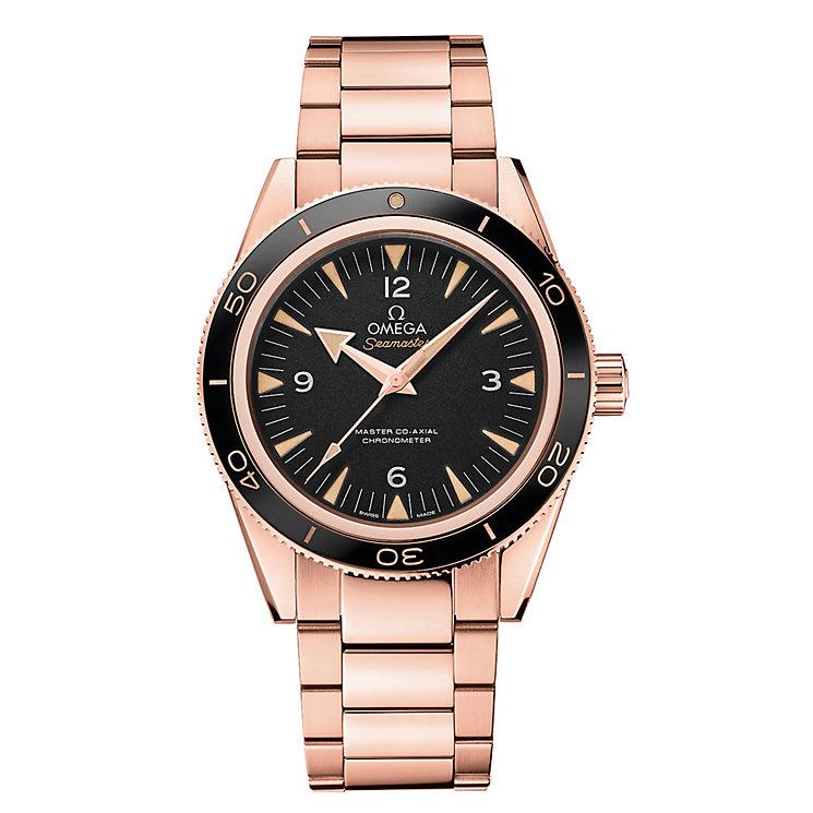 Omega Seamaster 300 Men's Rose Gold Bracelet Watch - Product number 2243091