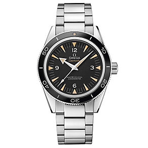 Omega men's stainless steel bracelet watch - Product number 2243113