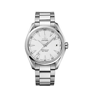 Omega men's stainless steel bracelet watch - Product number 2243156