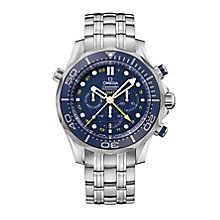 Omega Seamaster Diver 300M GMT chronograph bracelet watch - Product number 2243210