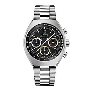 Omega men's stainless steel bracelet watch - Product number 2243237
