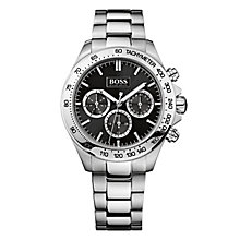 Hugo Boss Ladies' stainless steel chronograph bracelet watch - Product number 2243369