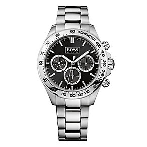 Hugo Boss men's stainless steel chronograph bracelet watch - Product number 2243369