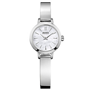 Hugo Boss ladies' stainless steel bangle watch - Product number 2243385