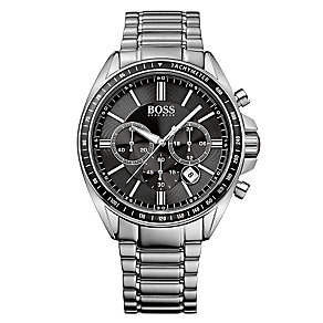 Hugo Boss men's stainless steel chronograph bracelet watch - Product number 2243407