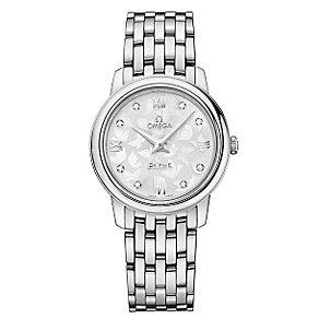 Omega De Ville ladies' stainless steel bracelet watch - Product number 2243717