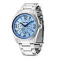 Police Men's Blue Chronograph Stainless Steel Bracelet Watch - Product number 2244403