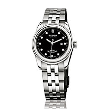 Tudor Glamour Ladies' Steel Diamond Dial Bracelet Watch - Product number 2244985