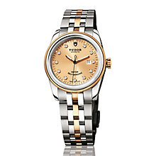 Tudor Ladies' Glamour two colour diamond dial bracelet watch - Product number 2245000