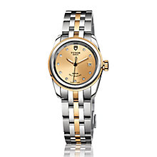 Tudor Ladies' Glamour two colour diamond dial bracelet watch - Product number 2245094