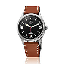Tudor men's Heritage Ranger leather strap watch - Product number 2245159