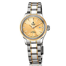 Tudor Ladies' Style two colour diamond dial bracelet watch - Product number 2245175