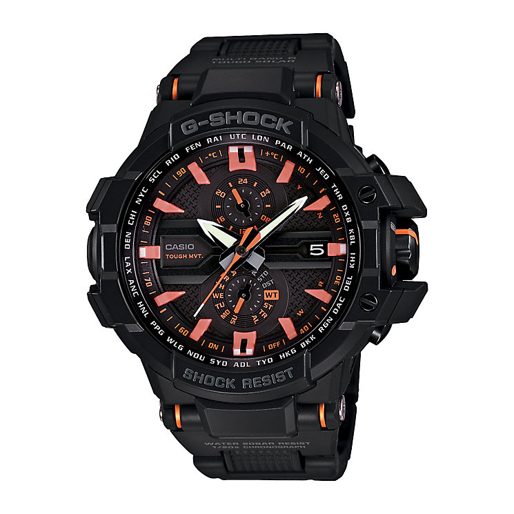 Casio G-Shock men's black resin strap watch - Product number 2245531