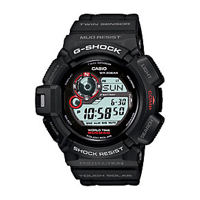 Casio G-Shock Mudman men's black resin strap watch - Product number 2245701