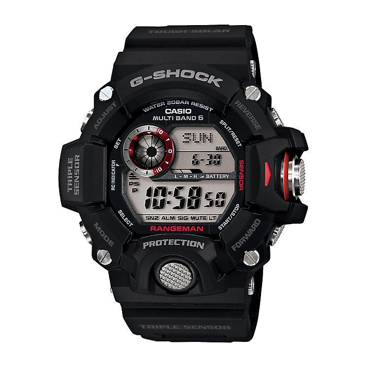 Casio G-Shock Rangeman men's black resin strap watch - Product number 2245728