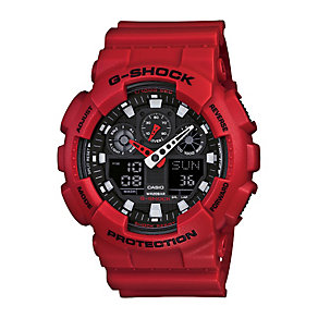 Casio G-Shock men's red resin strap watch - Product number 2245760