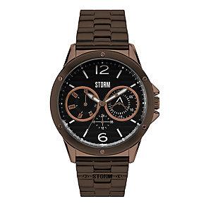 Storm Men's Aztrek Multifunction Bronze Tone Steel Watch - Product number 2247798