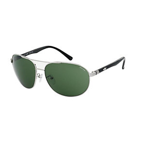Police Men's Green Aviator Sunglasses - Product number 2249510