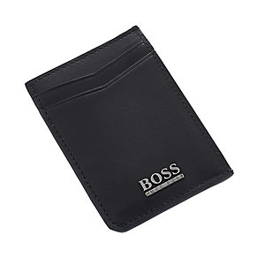 Hugo Boss black leather card holder - Product number 2251035
