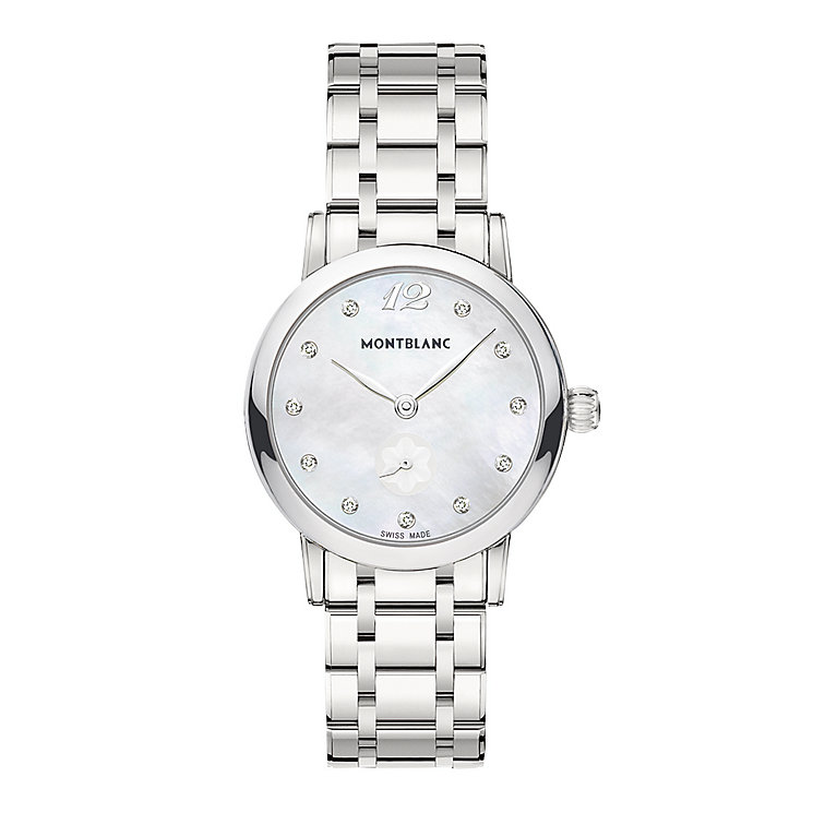 Montblanc Star ladies' stainless steel bracelet watch - Product number 2252155