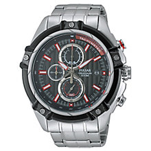 Pulsar Men's Stainless Steel Chronograph Watch - Product number 2252384