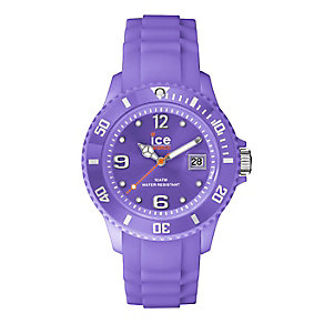 Ice Watch Ladies' Purple Silicone Strap Watch - Product number 2252589