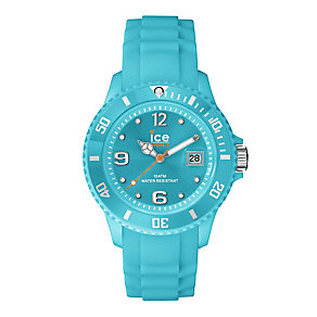 Ice Watch Ladies' Turquoise Silicone Strap Watch - Product number 2252619