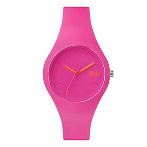 Ice Watch Ladies' Pink & Orange Silicone Strap Watch - Product number 2253054