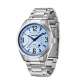 Police Men's Blue Lens Dial Stainless Steel Watch - Product number 2253100