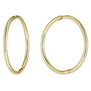 9ct Gold Sleeper Earrings - Product number 2255952
