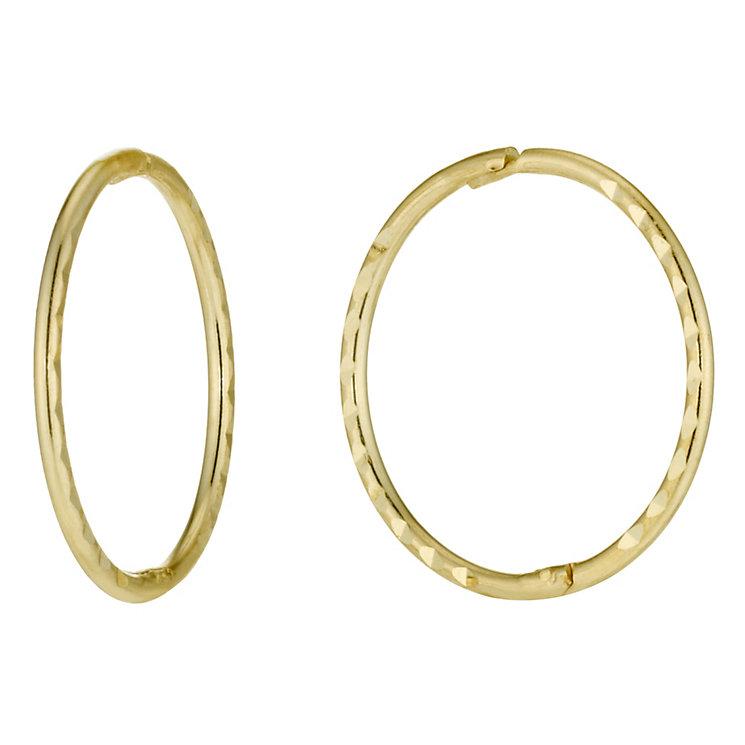 H samuel white gold hoop earrings beautify themselves with earrings