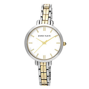Anne Klein Ladies' Two Colour Link Bracelet Watch - Product number 2258498