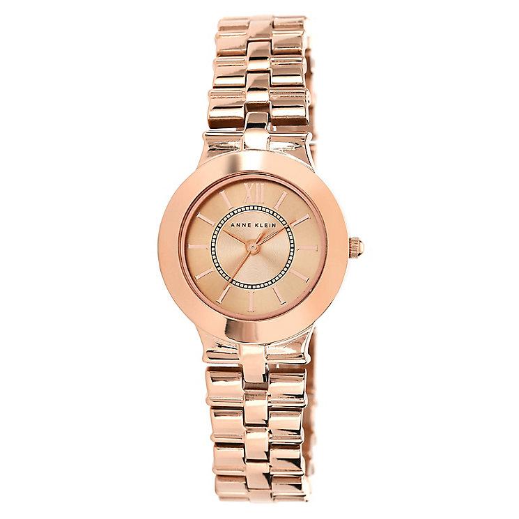 Anne Klein Ladies' Round Rose Gold Tone Bracelet Watch - Product number 2258501